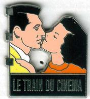 Pin's Film Le Train Du Cinéma Baiser Cary Gran Ingrid Bergman - Cine
