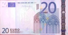 20 EURO SLOVENIE(H), R031,  Low Nummer, DRACHI DISEÑO Del 2002 - EURO