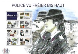 Luxembourg  -  FDC   30.6.2019   Police Vun Fréier An Haut - Unité Spécial Police - Dims.29,5x20cm - FDC