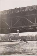 WAGHALSIGES KUNSTSTÜCK ARTIST ALFRED TORGE BERLIN RAILWAY CHEMIN DE FER TRAIN 17*12CM Fonds Victor FORBIN 1864-1947 - Trenes