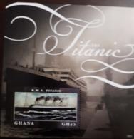 U) 2012, GHANA, 100 ANNIVERSARY OF THE TITANIC, PERFORATED - Ghana (1957-...)