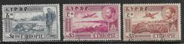 Ethiopia Scott # C30-2 Used Airplane Over Various Scenes, 1947 - Ethiopia