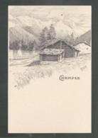 CPA (Suisse) Champex  - Dessin - VS Valais