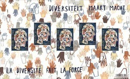 Diversiteit Maakt Macht** La Diversité Fait La Force MNH / Belgie - Belgique 2019 - Belgium