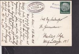 Postkarte Rößlerbaude Stefansruh ( Sudetengau ) Notstempel ? 1939 - Germany