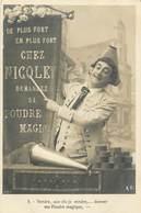 SERIE DE 10 CARTES THEME CAMELOT MARCHAND AMBULANT CHEZ NICOLE SA POUDRE MAGIQUE - Venters