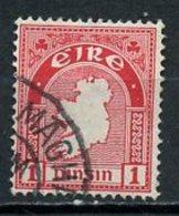 Irlande - Ireland - Irland 1941-44 Y&T N°79 - Michel N°72 (o) - 1p Carte - 1937-1949 Éire