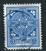 Irlande - Ireland - Irland 1941-44 Y&T N°83 - Michel N°76 (o) - 3p Croix Celtique - 1937-1949 Éire