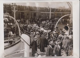 AT FOLKESTONE RAILWAY CHEMIN DE FER 24*20CM Fonds Victor FORBIN 1864-1947 - Trains