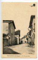 Mensignac La Grande Rue - France
