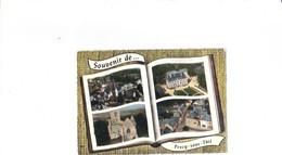 Souvenir De Précy Sous Thil.4 Vues - Autres Communes