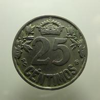 Spain 25 Centimos 1925 - [ 1] …-1931 : Koninkrijk