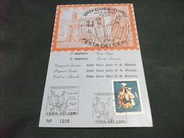FESTA DEI CERI GUBBIO PERUGIA 1976  N° 1205 - Perugia