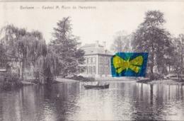 BERLAERE - Kasteel M. Roos De Hemptinne - Carte Circulé En 1907 - Berlare