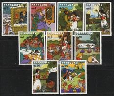 PARAGUAY - N°3112/20 ** (1979) Année Internationale De L'enfant - Contes - - Paraguay