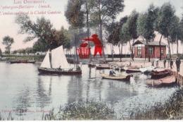Lac Overmeire - UYTBERGEN-BERLAERE - DONCK - L'embarcadère Et Le Chalet Gantois - Carte Colorée - Berlare
