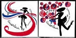 Série De 2 Timbres Adhésifs Neufs** - Saint-Valentin Cœurs Guerlain - Adhésifs Entreprise - France 2020 - Adhésifs (autocollants)