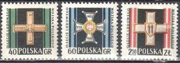 Poland 1958 - Polish People's Army, 15th Anniv. - Mi 1069-71 - MNH(**) - Postfrisch - 1944-.... Republic