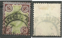 ENGLAND Great Britain 1902 Michel 109 King Edward O - Used Stamps