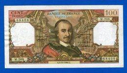 100 Fr Du 6/11/1968 - 1962-1997 ''Francs''