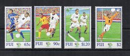 Fiji - 2006 - Francobolli Tematica Calcio - Coppa Del Mondo Germania 06 - 4 Valori - Nuovi ** - (FDC19432) - Fiji (1970-...)