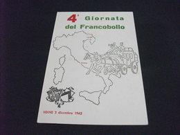4° GIORNATA DEL FRANCOBOLLO UDINE 1962 - Borse E Saloni Del Collezionismo