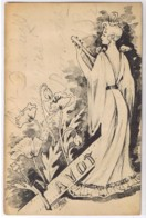 V1904 Dos Non Divisé - ILLUSTRATEUR ST MAXEN M Répertorié Neudin 1980 PAVOT (et Mandoline) - Autres Illustrateurs