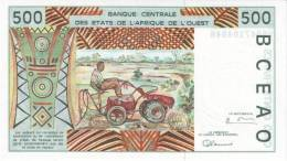 WEST AFRICAN STATES P. 410Dg 500 F 1997 UNC - Malí