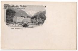 Interlaken - Hotel Du Nord. Undivided Back, Early 1900's - BE Berne