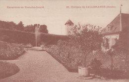 T4  - 25 - Doubs  - Le Chateau De JALLERANGE - Other Municipalities