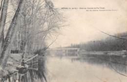 95 - MERIEL - Pont Du Chemin De Fer (Aval) - Meriel