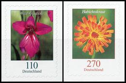 BRD MiNr. 3489-3490 Satz ** DS Blumen, Sk, Aus Marken-Set, Postfr. - Unused Stamps