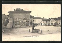 CPA Montrevel, Place Du Marche - Non Classificati