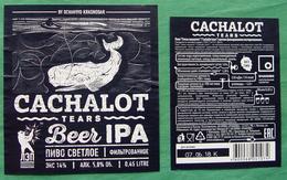 Cachalot Craft Beer Ochakovo Russia IPA - Bier
