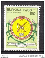 ##7, Burkina Faso, Fusil, Rifle, Charrue, Poste Aérienne, Airmail - Burkina Faso (1984-...)