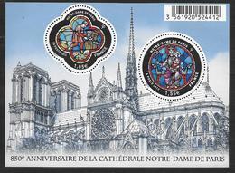 France 2013 Bloc Feuillet N° F4714 Neuf Notre Dame De Paris à La Faciale + 10% - Blocchi & Foglietti