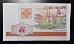 A1 BILLETS DU MONDE WORLD BANKNOTES 5 BELARUSIAN RUBLE - Billetes