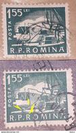 Error   Romania 1960, Mi 1883 With Errors - Variétés Et Curiosités