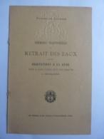 EMBLEME- ROYAUME DU CAMBODGE  RETRAIT DES EAUX  SALUTATIONS A LA LUNE- PROGRAMME à PHNOM PENH 1930 -JAN 2020 GERA  ALB - Autografi