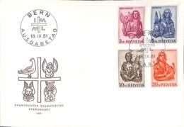 [903907]TB//-Suisse 1961 - BERN - FDC