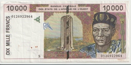 WEST AFRICAN STATES P. 914Sf 10000 F 2001 VF - Guinea-Bissau