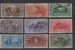 REGNO D'ITALIA 1930 BIMILLENARIO DELLA NASCITA DI VIRGILIO SASS. 282-290 USATA VF - Nuovi