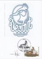 Doc 021 - Souvenir Signé - 1985-.. Oiseaux (Buzin)