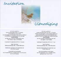 Doc 147 - Invitation / Uitnodiging 2010 - 1985-.. Oiseaux (Buzin)