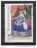 Guiné-Bissau, Velazquez, Femme, Woman, Costume, Reine, Queen, Horloge, Horlogerie, Clock, Art, Peinture, Painting - Arte