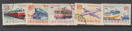 Romania Sc C137-41  1963 Transports, Used - Transport