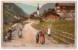 Switzerland - Spirigen. Undivided Back, Postally Used In 1907 - Unclassified