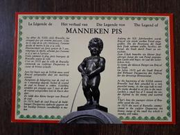 L22/1367 BELGIQUE  - MANNEKEN PIS - Personaggi Famosi