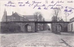 49 - Maine Et Loire -  CHOLET -  Le Pont De Fonte - Le Bon Pasteur Et La Route D Angers - Cholet