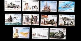 Guyana 1993 WWII World War II Scott# 2697-2707 - Guyana (1966-...)